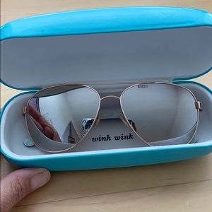 Kate Spade mirrored sunglasses